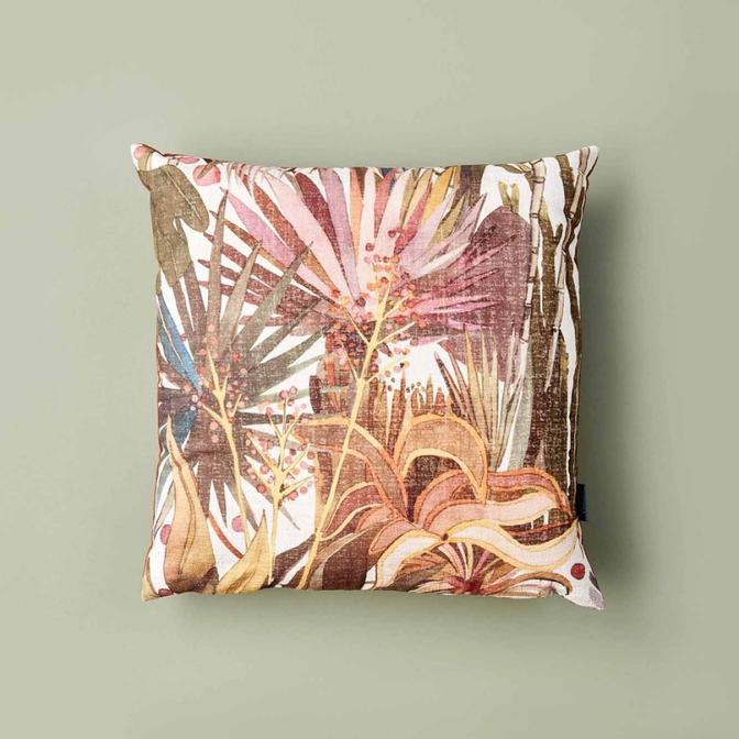 Palm Kırlent Kiremit (45x45 cm)