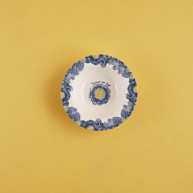 Van Gogh Stoneware Kase Mavi (15 cm)