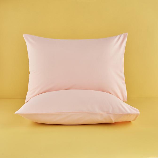 %100 Pamuk Ranforce Somon Yastık Kılıfı 50x70 cm (2 Adet)