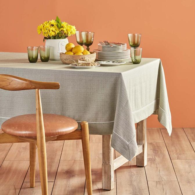 Basic Masa Örtüsü Haki (160 x 160 cm)