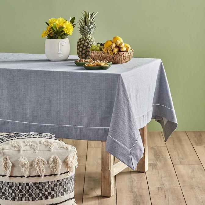 Basic Masa Örtüsü Lacivert (160x160 cm)