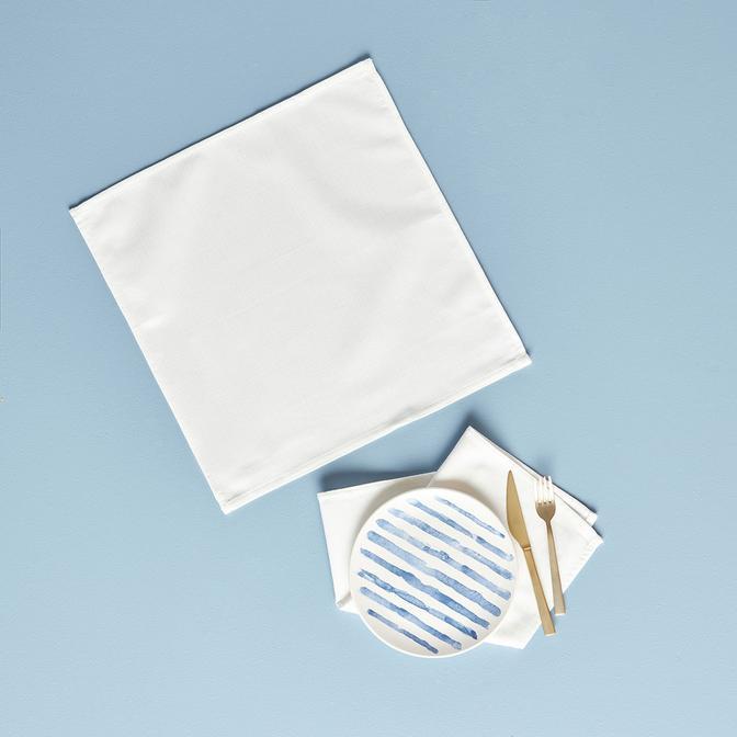 Basic Beyaz Peçete 2'li (40x40 cm)