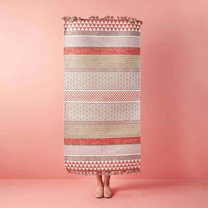 Dusty Pink Kilim Somon (120x180 cm)