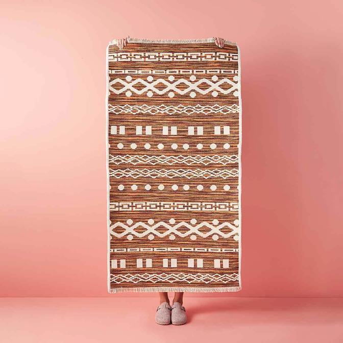 Duo Çift Taraflı Kilim Mix (80x300 cm)