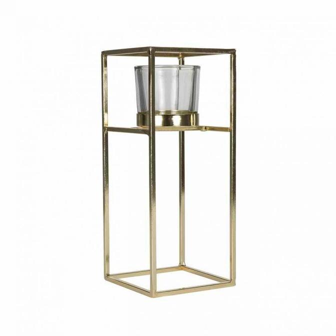 Tomba Tealight Mumluk Gold (23 cm)