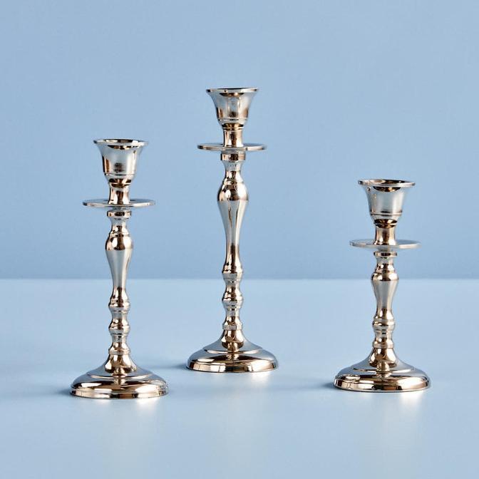 Vicco Mumluk Gümüş (16x7x7 cm)