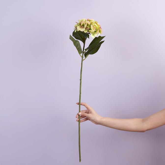 Hydrangea Yapay Çiçek Yeşil (76 cm)