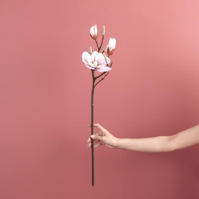 Manolya Pembe  Yapay Çiçek Pembe (72 cm)