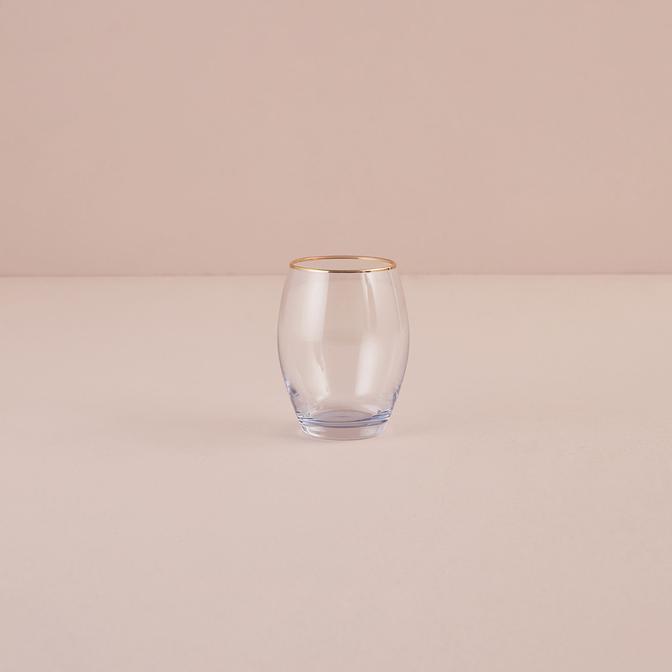 İtalya Meşrubat Bardağı Mavi (390 cc)