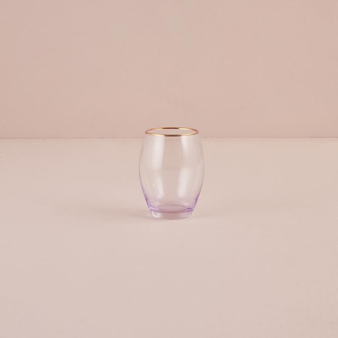 İtalya Meşrubat Bardağı Mor (390 cc)