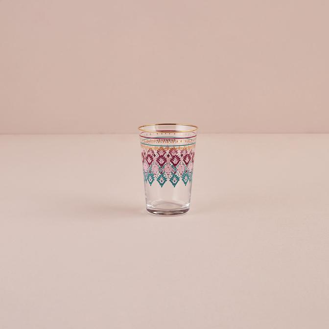 Indian Meşrubat Bardağı Mor (290 cc)