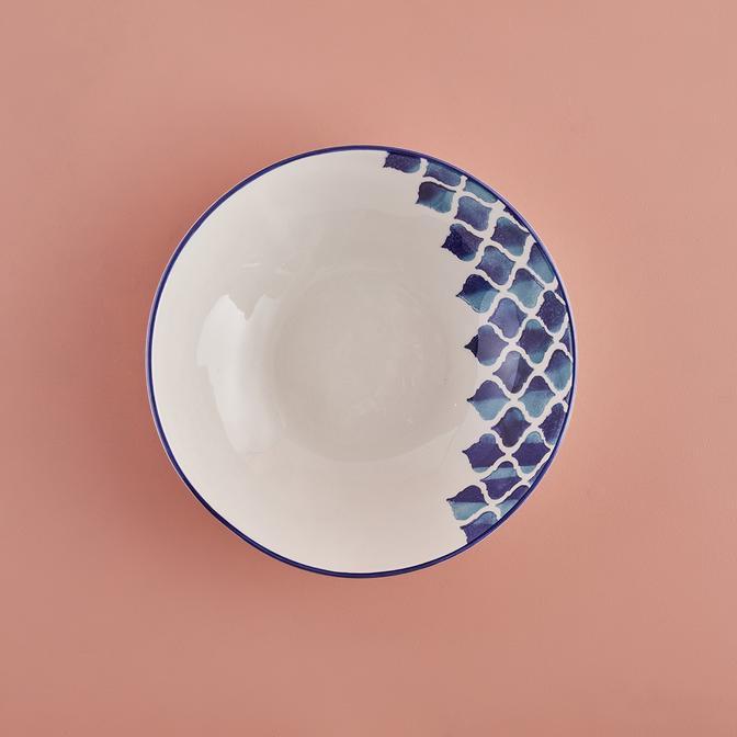 Blue Tile Seramik Salata Kasesi (26 cm)