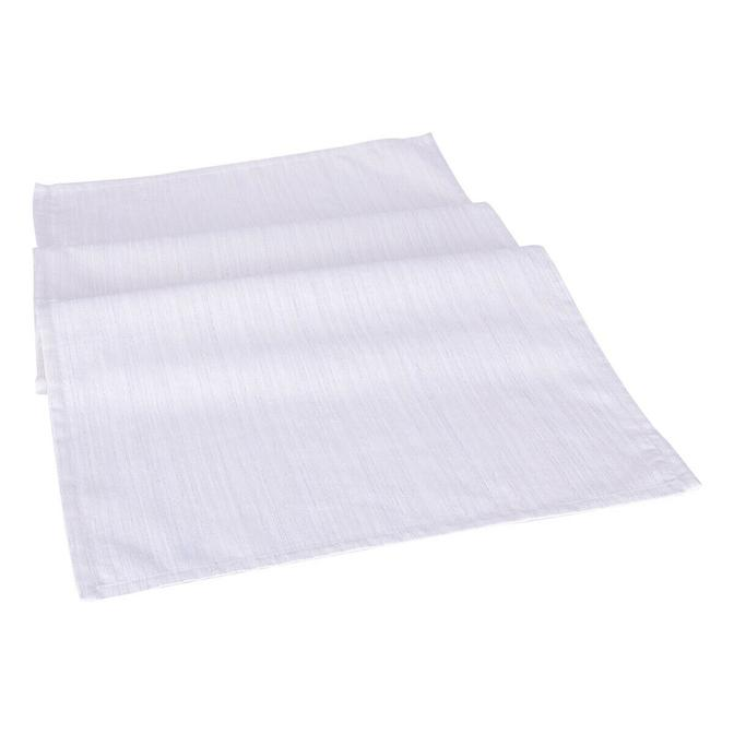 %100 Polyester Lapland Runner Beyaz (50x140 cm)