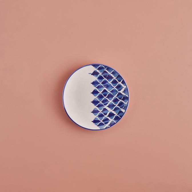 Blue Tile Seramik Tatlı Tabağı (16 cm)