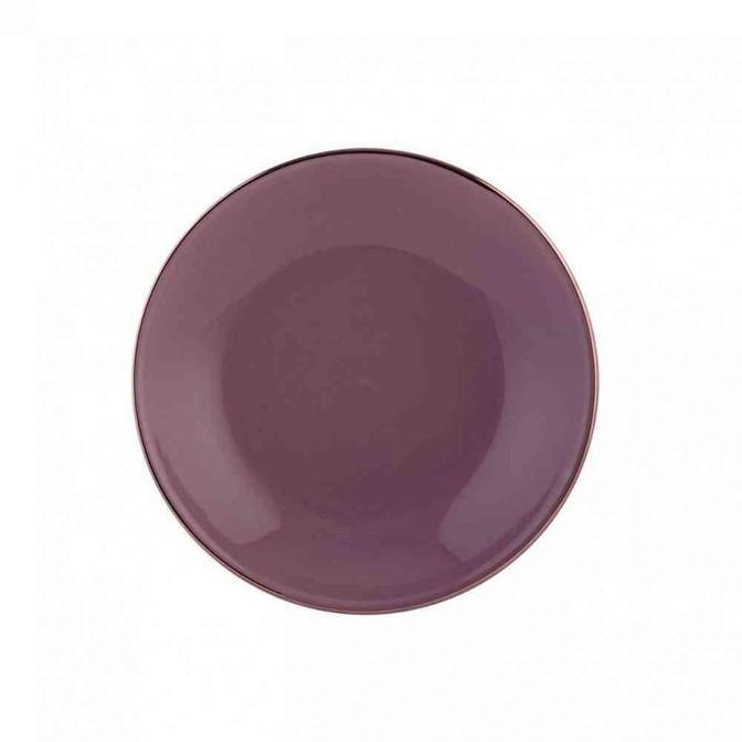 Allure Seramik Yemek Tabağı Gül Kurusu (21 cm)