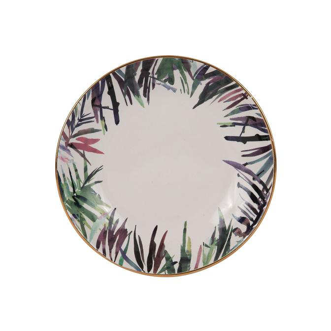 Bahamas Seramik Yemek Tabağı (21 cm)