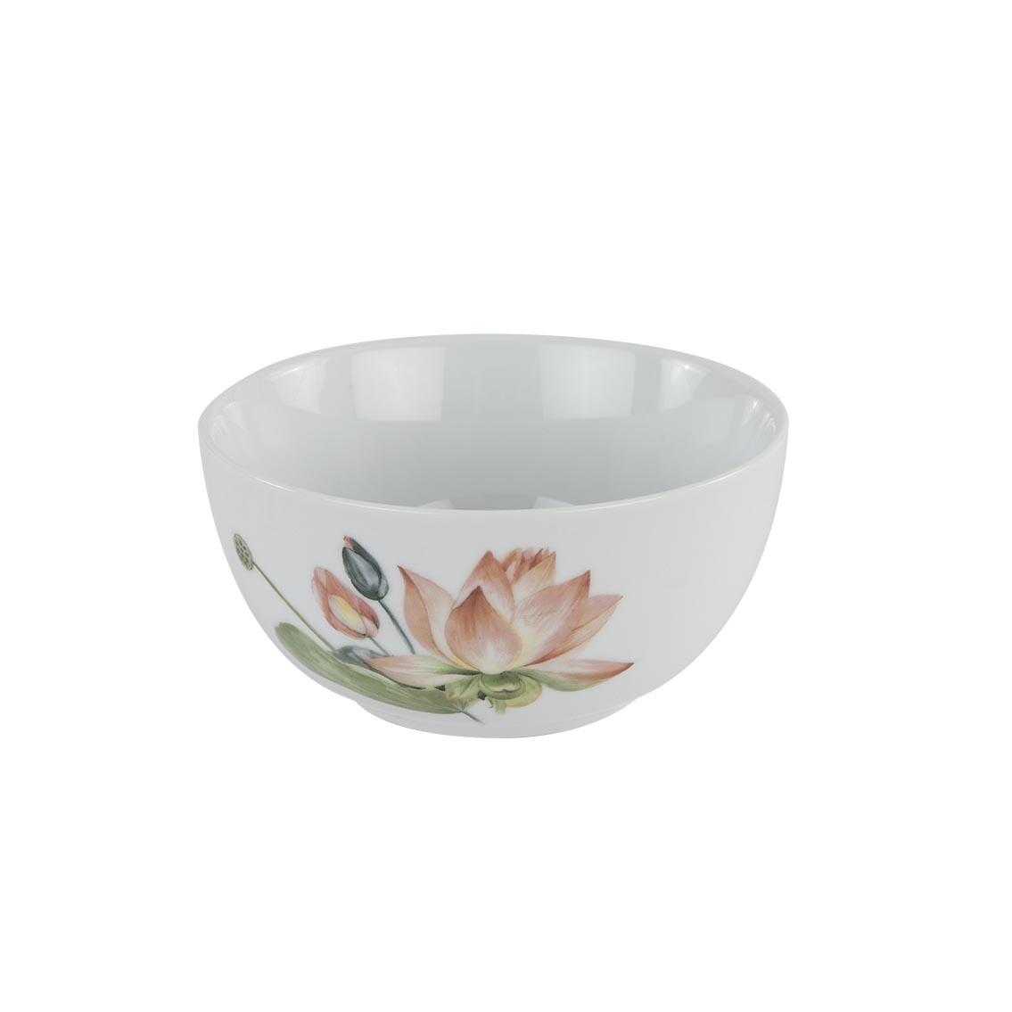 Lotus Porselen Çorba Kasesi Yeşil 6'lı (14 cm)