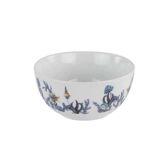 Berthe Porselen Çorba Kasesi Mavi 6'lı (14 cm)