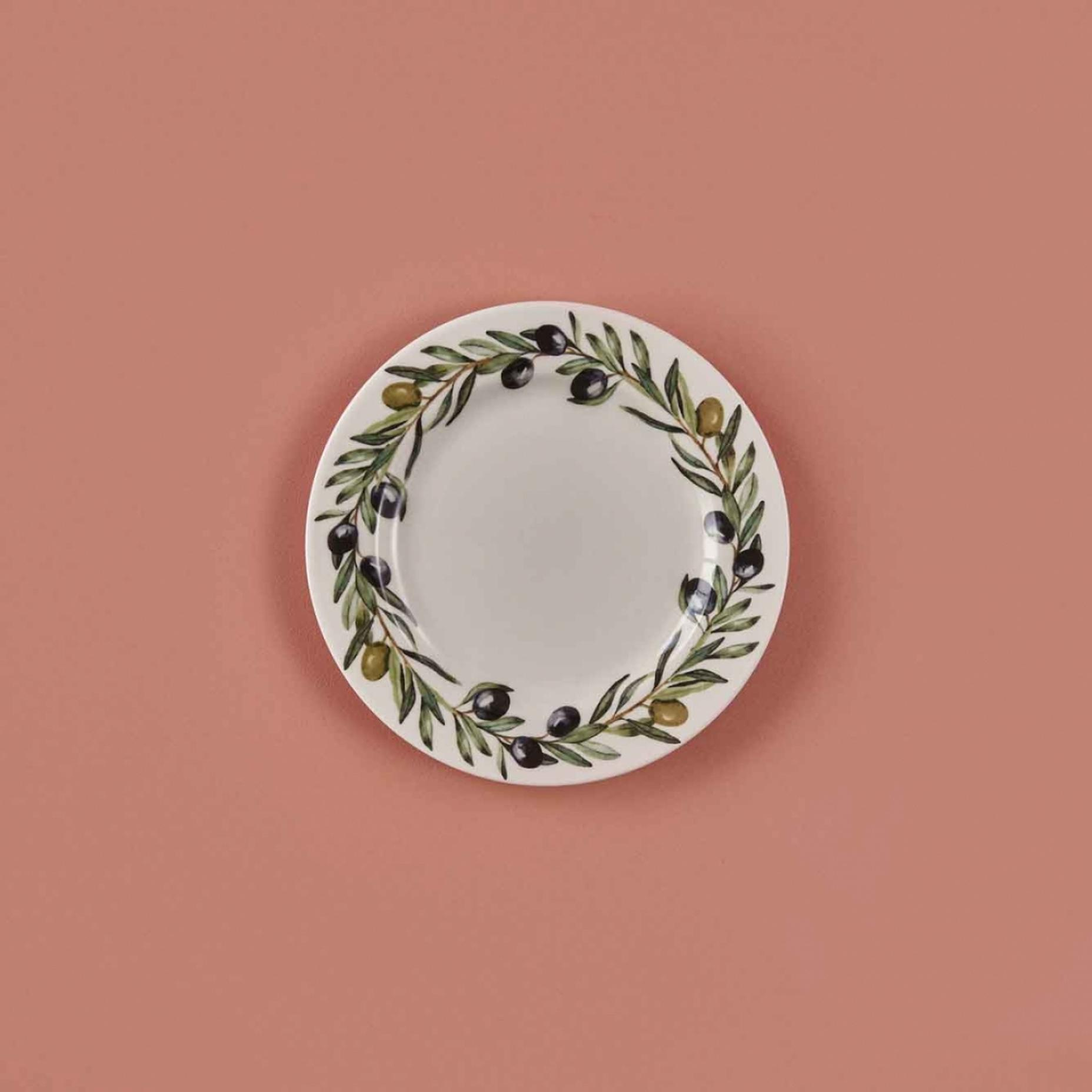 Olive Stoneware Pasta Tabağı (19,5 cm)