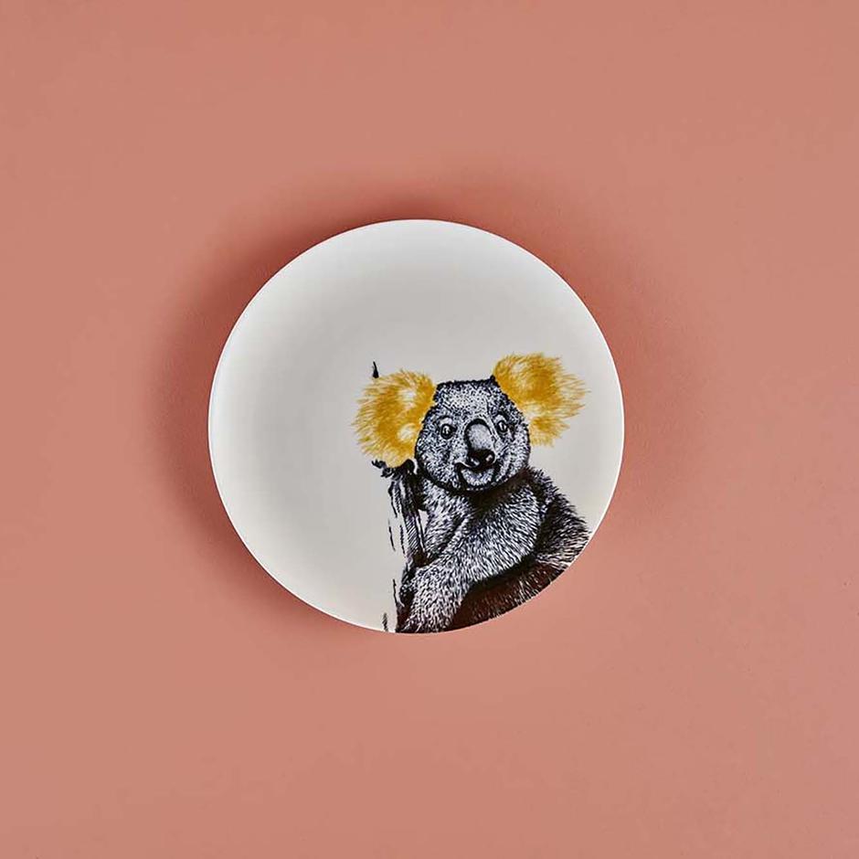 Safari Porselen 6'lı Servis Tabağı Seti (26 cm)