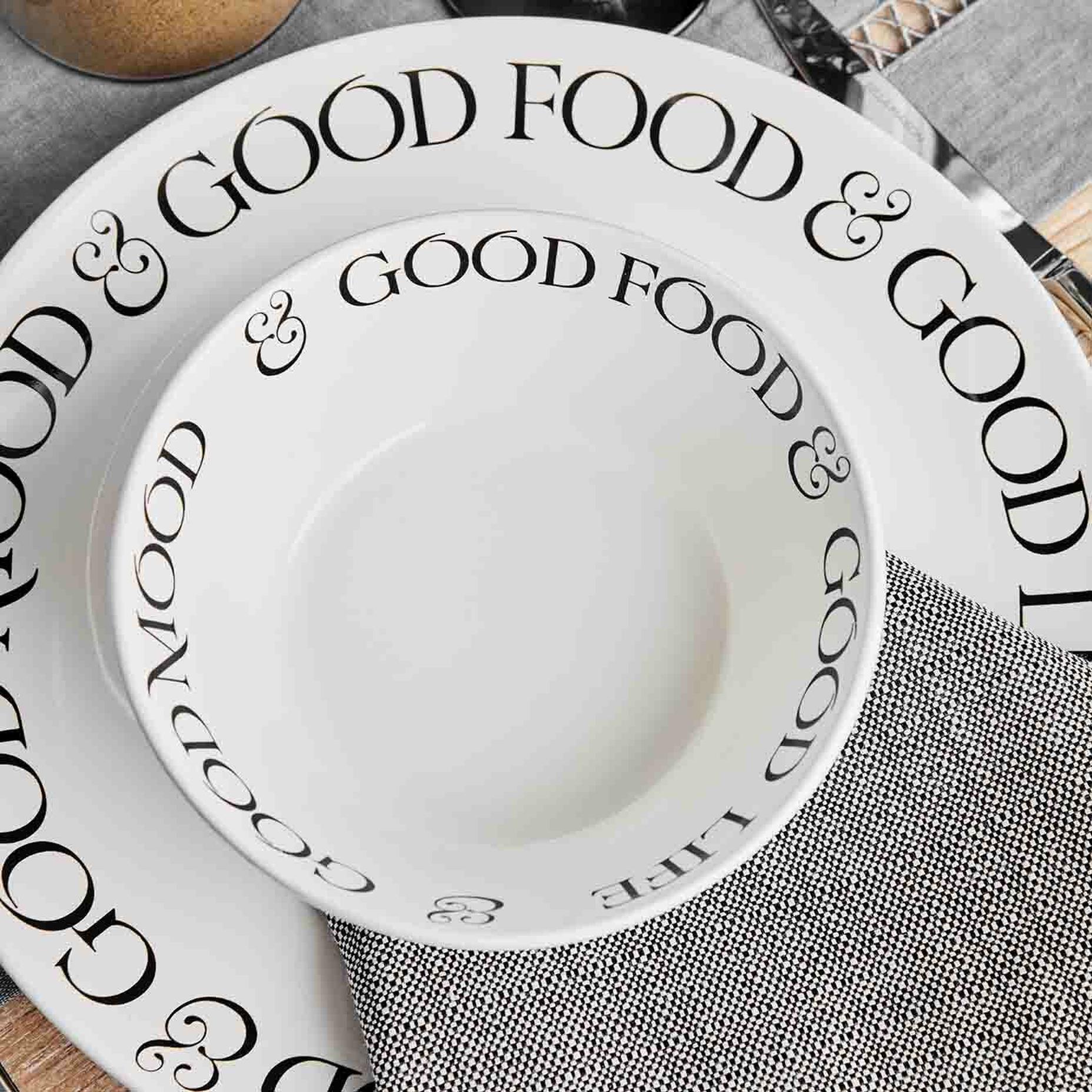 Motto 18 Parça 6 Kişilik Yemek Takımı