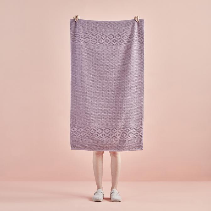 %100 Pamuk Helena Banyo Havlusu Lila (70x120 cm)