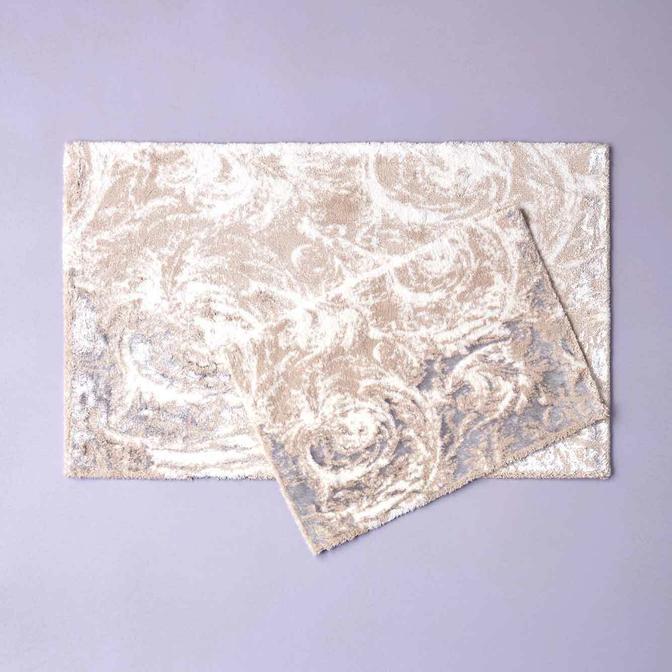 Abri 2li Paspas Takımı Ekru (60x100 cm)