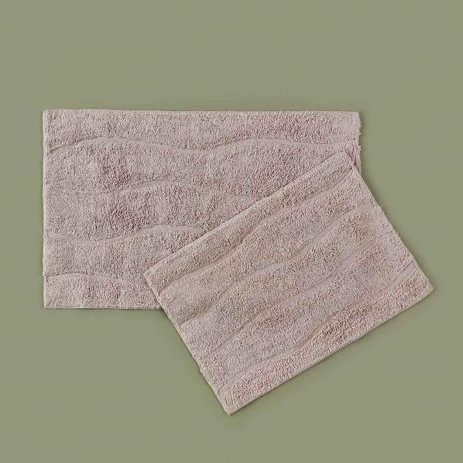 Semeru 2'li Banyo Paspas Takımı Gri (40x60 - 50x80 cm)