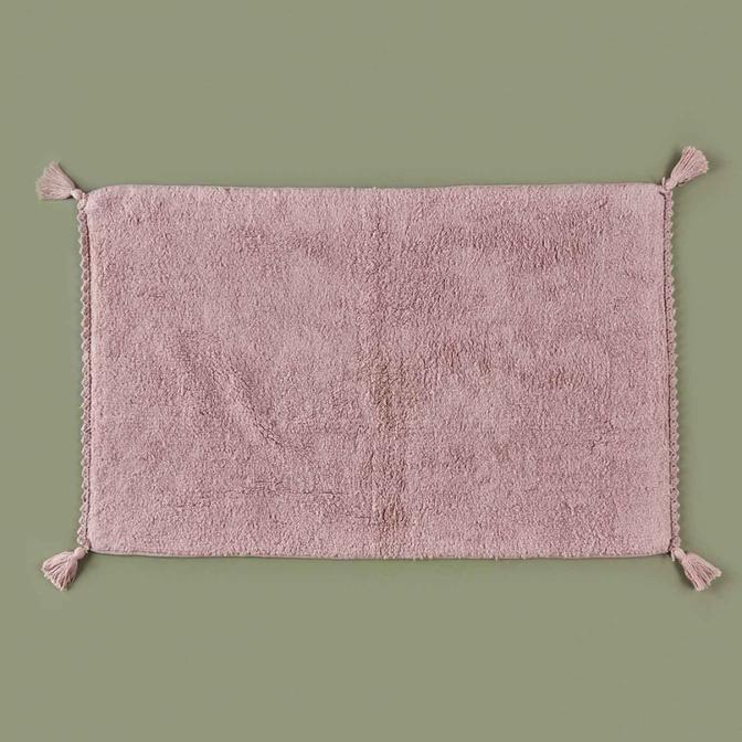 Alex Banyo Paspası Gül Kurusu (70x110 cm)