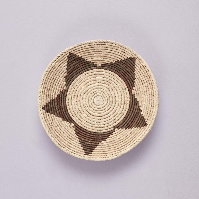 Henna Duvar Tabağı Kahverengi (33-36 cm)