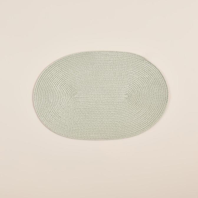 Circum Oval Amerikan Servis Açık Yeşil (44x30x2 cm)