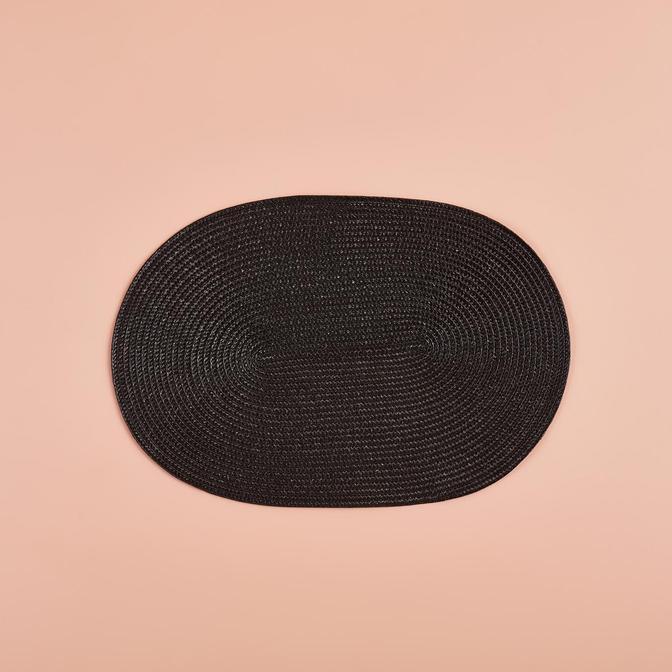 Circum Oval Amerikan Servis Siyah (44x30x2 cm)