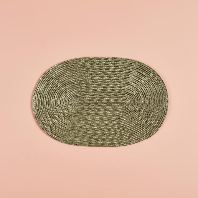 Circum Oval Amerikan Servis Yeşil (44x30x2 cm)