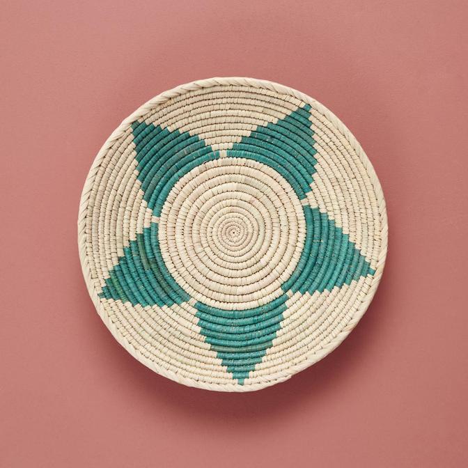 Jasmin Duvar Tabağı Yeşil (33-36 cm)