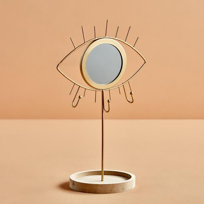 Jewel Eye Gold Ayna (32 cm)