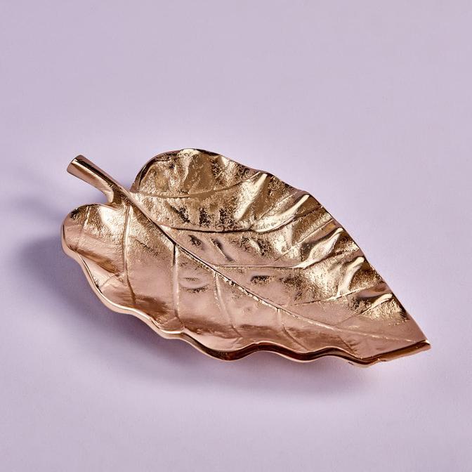Cherry Dekoratif Tabak Leaf Gold (4x20x27 cm)