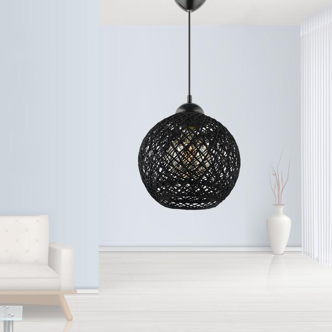 Balle Sarkıt Siyah (20x22 cm)