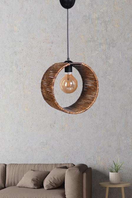 Tambour Sarkıt Kahverengi (25x25 cm)
