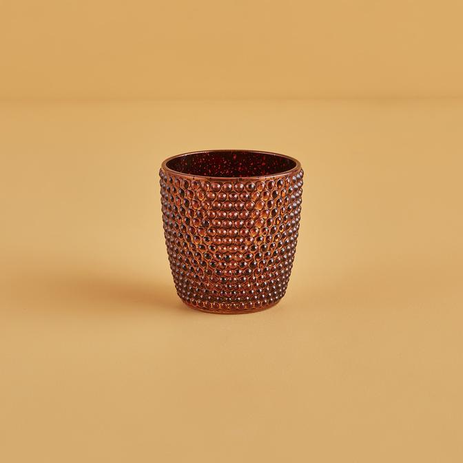 Mat Mumluk Kahverengi (9x9 cm)