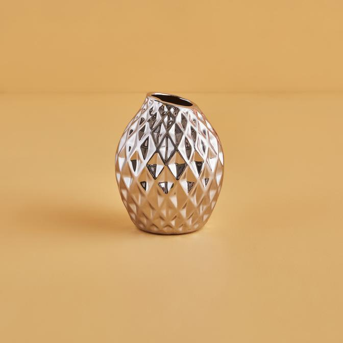 Cyrstal Vazo Silver (13 cm)