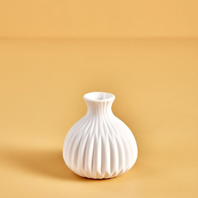 Teskon Vazo Beyaz (11x8 cm)