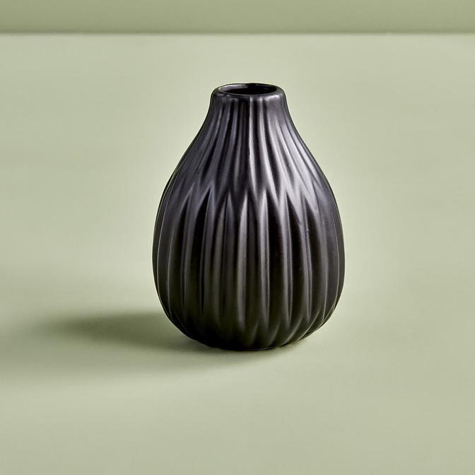 Esko Vazo Siyah (12x9 cm)