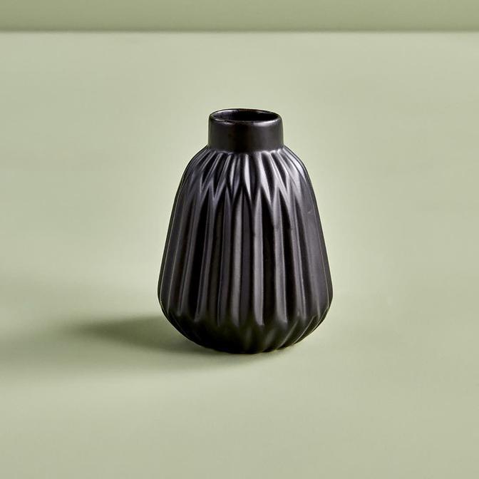 Eston Vazo Siyah 11 cm
