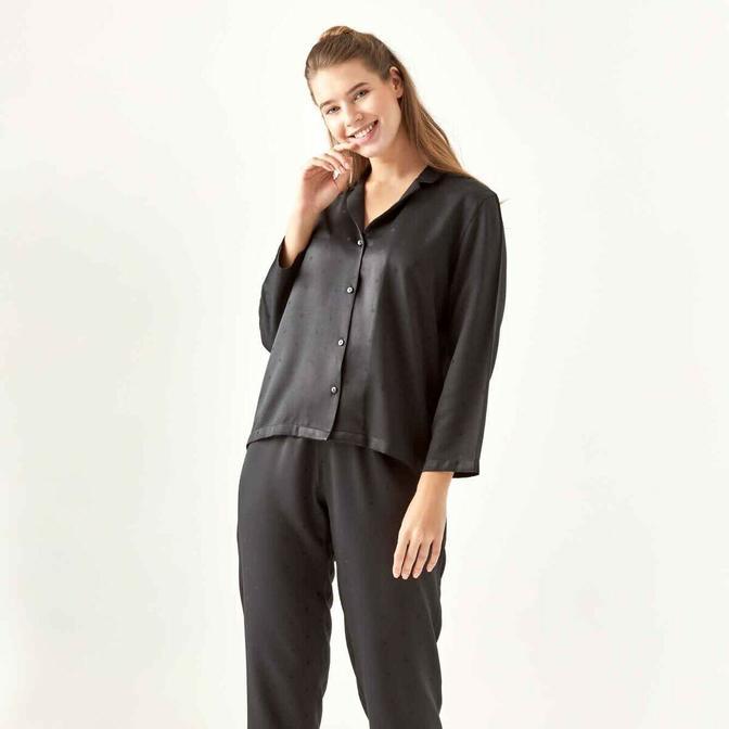 Spark Siyah Pijama Altı