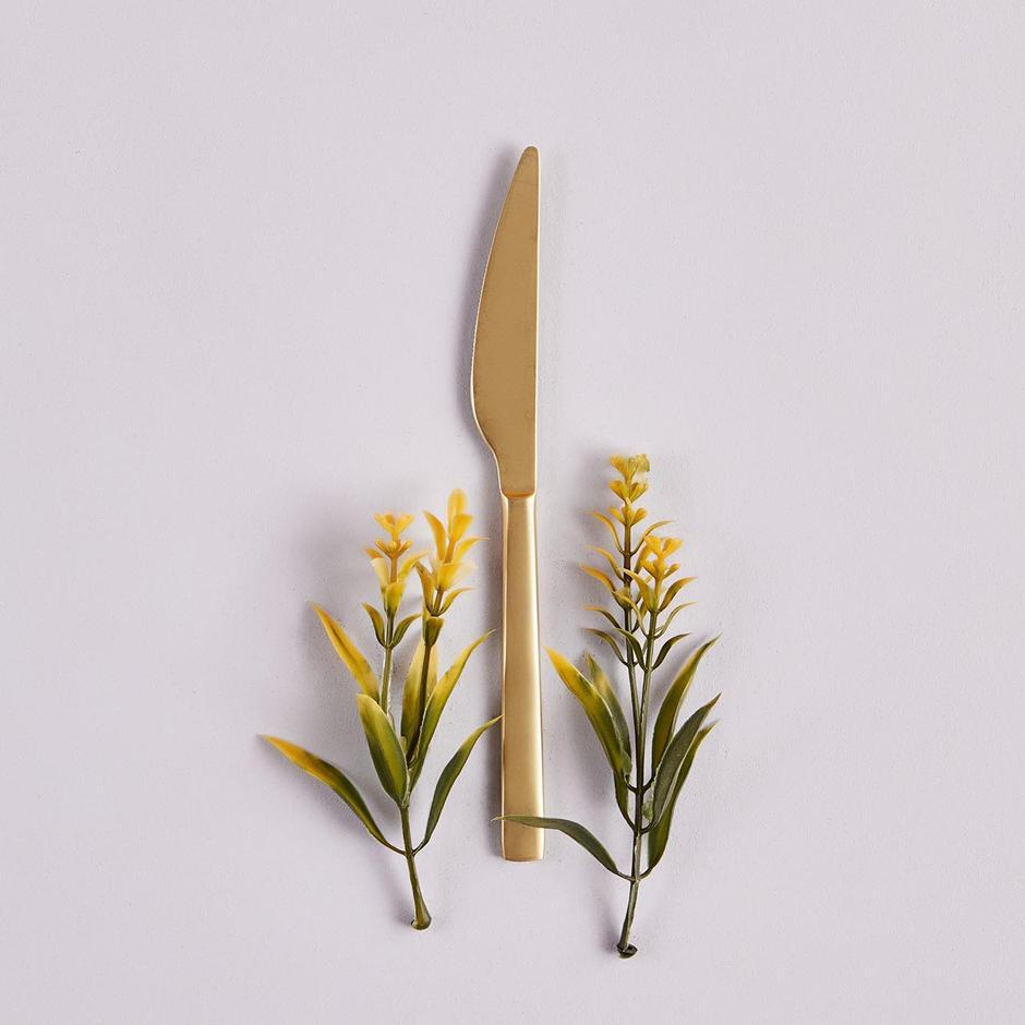 Gold Yemek Bıçağı