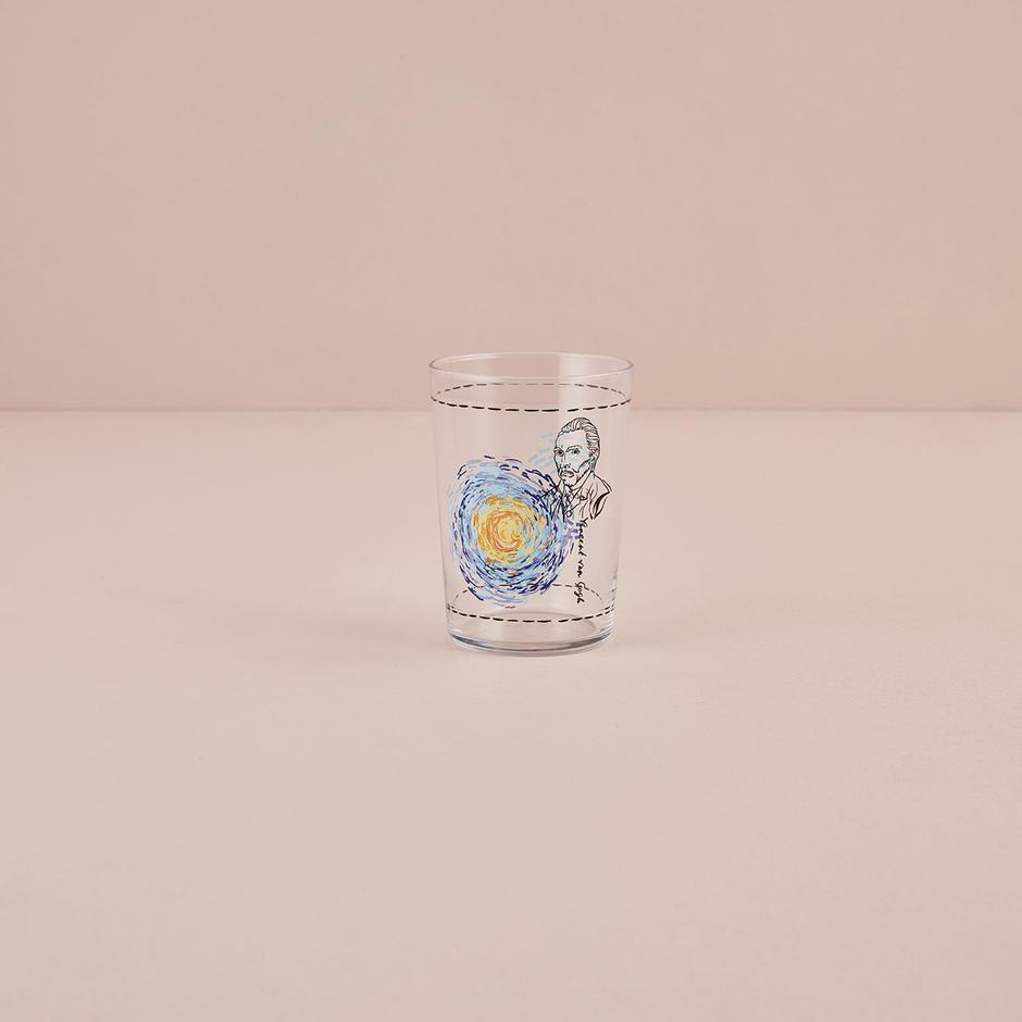 Van Gogh 4'lü Meşrubat Bardak Seti Mavi (510 cc)