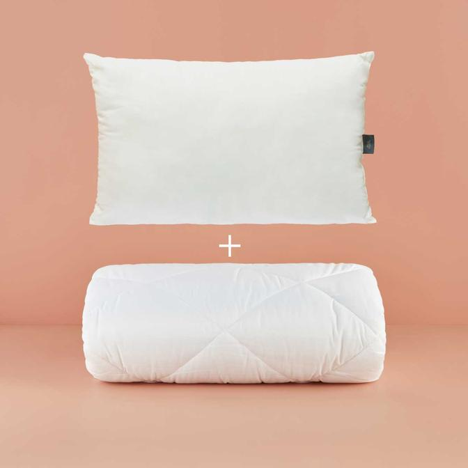 Puffy Tek kişilik Uyku Seti Beyaz (155x215 cm)
