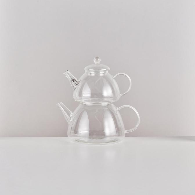 Cam Çaydanlık (800-1500 ml)