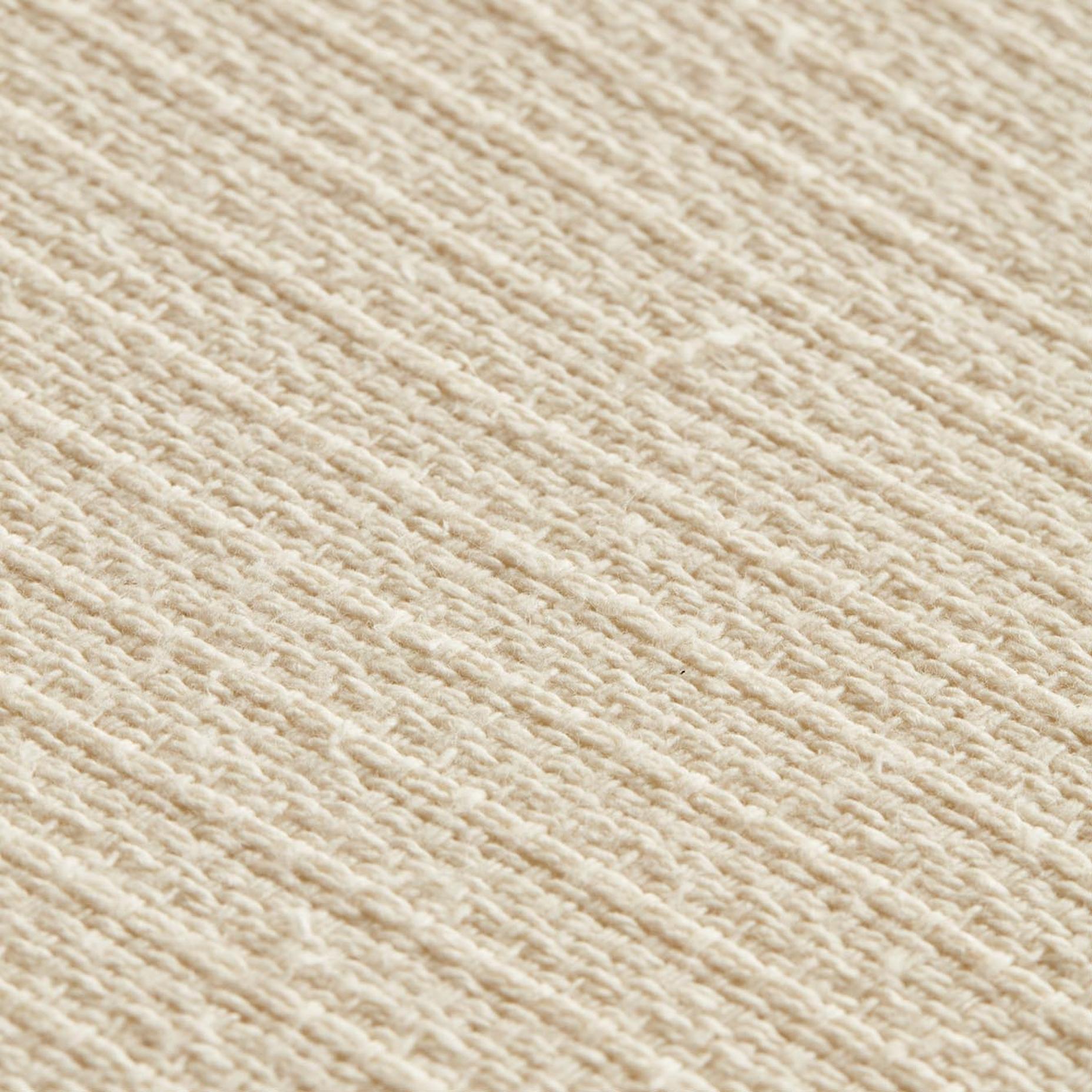 %100 Pamuk Verona Çift Kişilik Yatak Örtüsü Seti Ekru (220x240 cm)