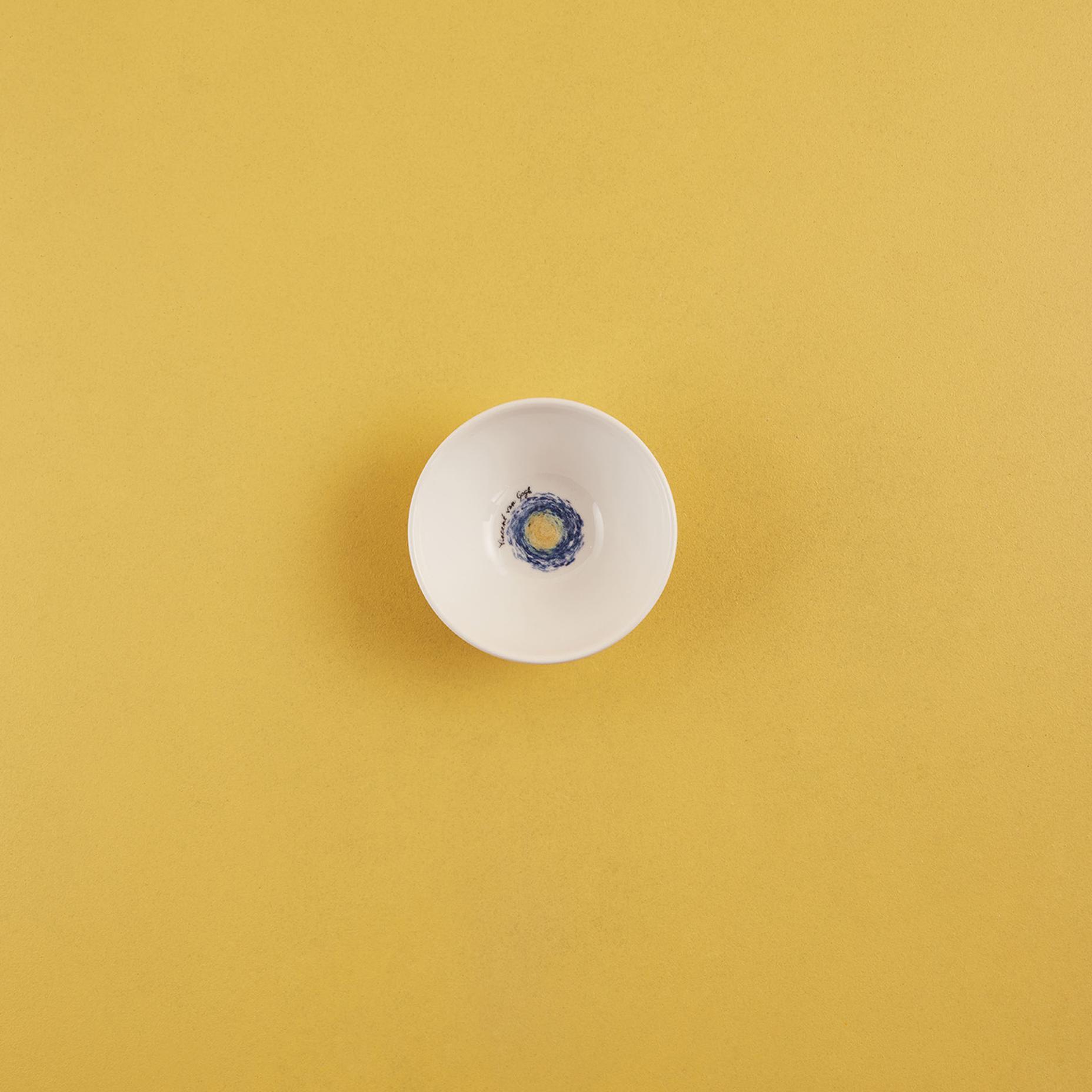 Van Gogh Stoneware Reçellik Mavi (10,5 cm)